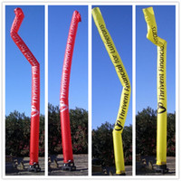Wholesale Outdoor advertising signs skytube inflatable sky dancer wind custom air dancers business Christmas inflatables Factory price