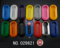 Wholesale 2014 car new Remote Flip Key Fob Case Cover Buttons For Fiat Brava Panda Punto dandys