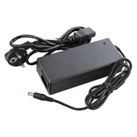 Wholesale BEST QUALITY AC100 V to DC V A EU Plug Power Supply Adapter Balancer Charger for DVR or LCD monitor use plug type for EU
