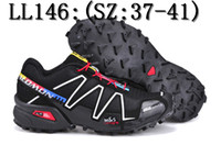 Wholesale Hot Free new Original quality Zapatillas Salomon SPEED CROSS3 CS outdoor sports Running shoes men s Athletic shoes