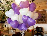 Wholesale Heart Shape Balloons Occasions Wedding Birthday Party Decoration Supplies ballon party decorate