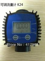 Wholesale K24 Digital Turbine Flow Meter Methanol Diesel Gasoline Chemical Liquid Water Meter