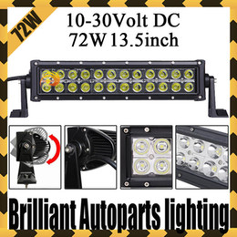 Wholesale INCH W CREE LED WORK LIGHT BAR FLOOD BEAM LED DRIVING LIGHT FOR OFFROAD x4 ATV BOAT TRUCK TRACTOR SAVED ON W W