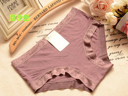 Wholesale 3532 hip Seamless underwear women sexy underwear Cotton Modal Ms Xiaoping angle underwear