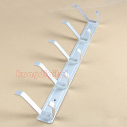 Wholesale Space Aluminum Home Clothes Coat Hanger Rack With Hooks For Bedroom Washroom