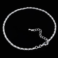 Fashion Silvere Mother's Day 925 Silver Anklets Fashion Jewelry Ankle Bracelets MA008