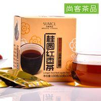 Wholesale Buy Get still off dates longan tea instant tea bag tea red dates longan combination of herbal tea