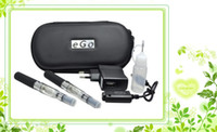 Double Multi Metal Top quality eGo-T CE4 Colorful Zipper ego case electronic cigarette starter kit with CE4 atomizer ego t battery e cigarette kits DHL free