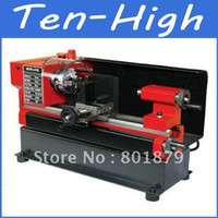 Wholesale Fedex Freeshipping Mini Lathe machine tool for Metalwork or DIY Horizontal MM C3 CJ9518D Mini Bench Lathe