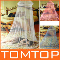 Wholesale 3 Color Optional Elegant Netting Bed Canopy Mosquito Net Dropshipping