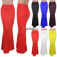 Cheap Mermaid Maxi Skirts | Free Shipping Mermaid Maxi Skirts ...