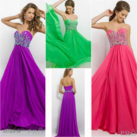Cheap Reference Images Cheap Prom Dress Best Sweetheart Chiffon Backless Gowns