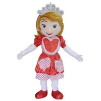 Mascot Costumes Unisex People Professional Sofia the First in red dress Mascot Head Costume Halloween Christmas Birthday Suit Props Costumes Outfit