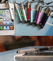 For Apple iPhone Cheapest Metal Wholesale-Wholesale DHL free ship cheap colorful Touch screen pen stylus for capacitive screen smart phones
