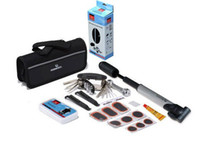 bicycle tyre pump - Bike Bicycle Tyre Repair in Multifunctional and Practical Tool Set Kit mini portable Pump new top sale