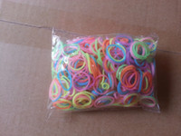 Other Other Valentine's Day FreeShipping 300 sets(1set=600bands+ 24 S-Clips)Hot sell DIY bracelet Loom Rubber Bands Loom Bands Refills