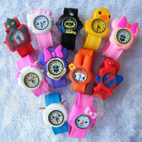 Wholesale China watches lovely children mix color carton styles cheap watches