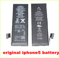 Wholesale 1440mah V Replacement Built in Battery For iPhone G Li ion Polymer Internal lithium Battery Part Cell Phone Batteries with Flex cable