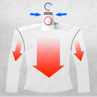 Wholesale Good Quality foldable Plastic Clothes Hanger coat Hanger with clothes drying function
