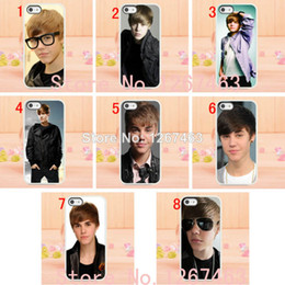 Wholesale New Justin bieber hard white case cover for iphone th S and retail