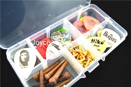 Transparent Plastic Picks Case For Save Guitar Picks&Guitar Accessories Tools Free Shipping