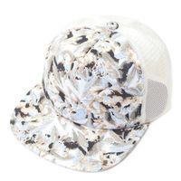 Fashion Graffiti Net Snapback Hiphop Baseball Cap Flat Hat