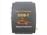 Wholesale Car ISDB T mobile digital tv box tuner Receiver for Brazil support km h