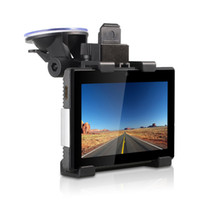 1 channel android tablet with gps navigation - 3 IN Dual Lens Car DVR Camera GD001 With HD P quot Touch Screen GPS Navigation Tablet PAD Android