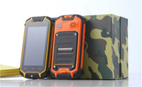 Wholesale Popular mini Z18 MTK6572 drfy Land Rover waterproof dustproof shockproof military Android smart phone outdoors for extreme sports cell phone