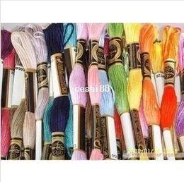 Wholesale 8 Yard Embroidery Thread Cross Stitch Thread Floss CXC Similar DMC Piece Top Grade