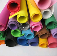 Wholesale colors for option X50cm sponge foam paper for background scrapbook craft Punch stamping DIY Decor Card Toy