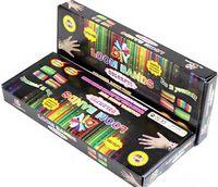 Unisex 8-11 Years Multicolor Hot Rainbow loom kit rainbow loom DIY rubber wrist bands bracelets with(600 pcs bands+24 pcs clips+1 pcs Hook+1 pcs shell