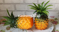 Wholesale NEW Arrivals cm Artificial Fruits Vegetables Simulation Real Touch Pineapple Aggravate Pineapples Home Decoration