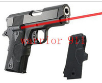 airsoft pistol - 2013 new Grip for Pistol Series red laser sight red dot rifle scopes scopes tactical airsoft hunting Black Mud color