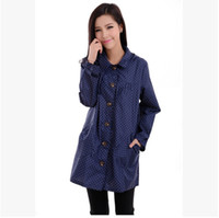 Polyester   Fashion women raincoat trench bicycle coat with lightweight shivering Dupont pvc fabric & outerwear waterproof windcoat style
