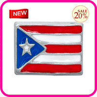 Wholesale PUERTO RICO FLAG FLOATING CHARMS