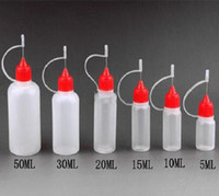vapor liquid - Soft PE Needle Bottles ml ml ml ml ml ml With Colorful Needle Caps amp Safe Tips LDPE For E Cig Atomizer Vapor Vape E Liquid