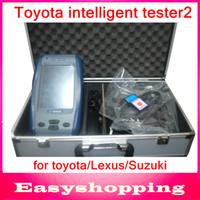 Engine Analyzer for  suzuki  it2 2014 Professional toyota it2 2012 .08 version with card Auto Diagnostic Scanner toyota intelligent tester2 For Toyota Lexus Suzuki