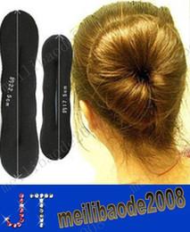 Promotion outils gratuits d'expédition livraison gratuite Sponge Bun clip Maker Ancien Foam Twist Outil Cheveux Accessoires Cheveux Coiffure MYY1405