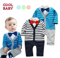 Suspender Thouser Boy Spring / Autumn The spring and autumn period and the latest 2014 male baby cotton gentleman bow tie long-sleeved dress cute upgrades handsome oh