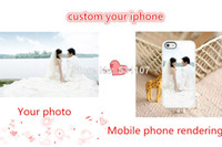 Plastic apple iphone online - hot online customized Production hard Transparent case cover for iphone s gs and retail