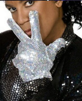 Wholesale MJ Sequins Single Glove Michael Jackson New Arrival B4