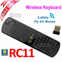 Wholesale RC Measy Fly Air Mouse GHz Wireless keyboard Remote control For Mini PC TV box