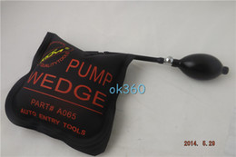 Wholesale New KLOM PUMP WEDGE Airbag Air Wedge Pump Wedge for Unlock Car Door bump key padlock tool H275