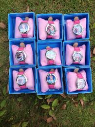 Wholesale fashion new HOT SALE FROZEN children watch Boxed children birthday gift frozen watch frozen elsa New frozen Watches