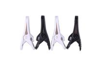 Wholesale Earphone Headphone Cable Clip Clamp Tidy Clamp Cloth Necktie white black