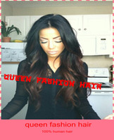 Wig,Half Wig queen hair Human Hair Hotselling !! factory wholesale heavy density malaysian virgin human hair two tone lace front wig free shipping