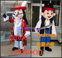 Mascot Costumes Unisex Costum Made Hot Sale Mascot Costume the jake and the neverland pirates Adult Size Fancy Dress Suit Costumes Free Shipping