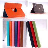 Wholesale 360 degree Flip PU Leather Case suit for inch Mini Pad Allwinner A20 Q88 A13 Pipo Ainol ZTPad Onda RK3188 Quad Core MID Tablet PC