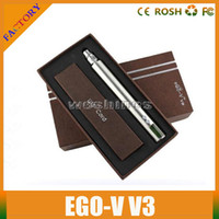 Cheap 1300mAh eGO V3 Battery Best Adjustable Electronic Cigarette 1300mAh eGO V3